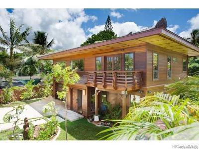 Haleiwa Single Family Home For Sale: 61-298 Kamehameha Highway