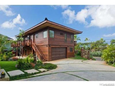 Haleiwa Single Family Home For Sale: 61-300 Kamehameha Highway