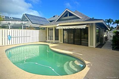 Honolulu Single Family Home For Sale: 349 Holokai Place