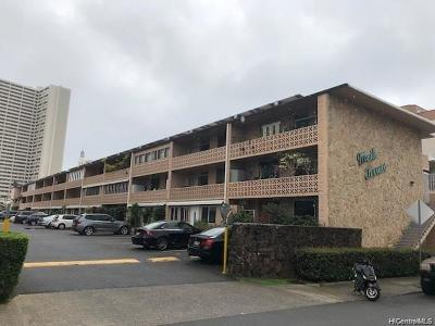 Honolulu County Condo/Townhouse For Sale: 1323 Makiki Street #A303