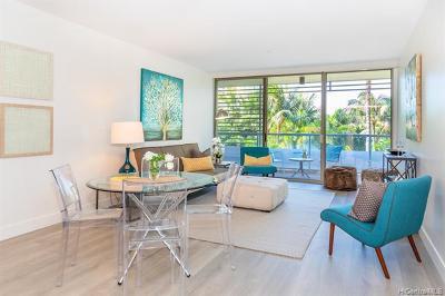Honolulu County Condo/Townhouse For Sale: 1551 Ala Wai Boulevard #204