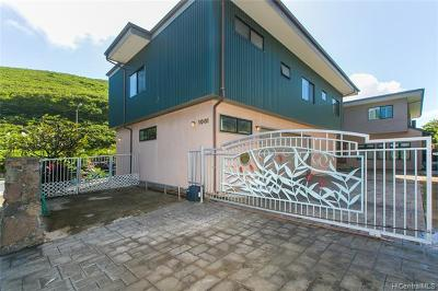 Single Family Home For Sale: 1001 Maunanani Street