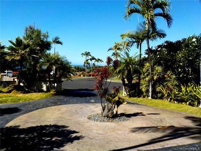 Kailua Single Family Home For Sale: 78-6957 Kiaaina Street