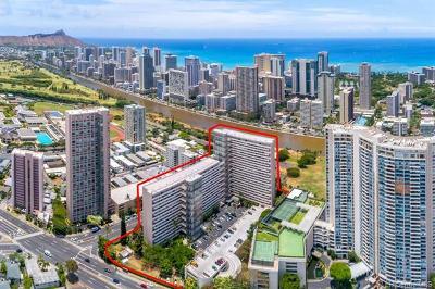 Honolulu Condo/Townhouse For Sale: 500 University Avenue #136