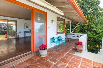 Honolulu Single Family Home For Sale: 2080 Mauna Place