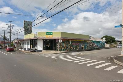 Wahiawa Commercial For Sale: 650 California Avenue