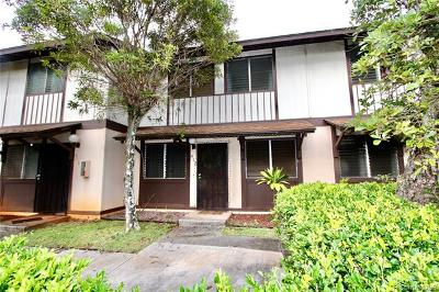 Mililani Condo/Townhouse For Sale: 94-1406 Lanikuhana Avenue #412