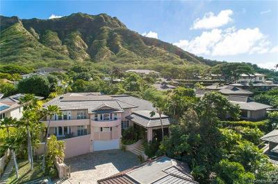 Honolulu HI Single Family Home For Sale: $5,900,000