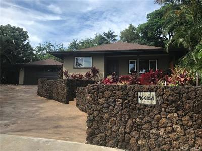 Kailua Single Family Home For Sale: 76-6251 Kokoolua Way