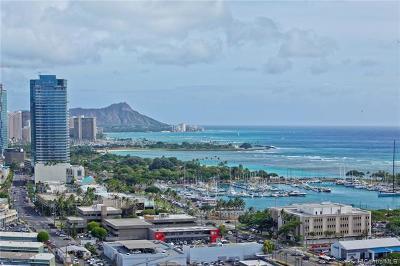 Honolulu Condo/Townhouse For Sale: 600 Ala Moana Boulevard #2303