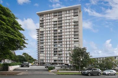 Honolulu Condo/Townhouse For Sale: 1617 Keeaumoku Street #601