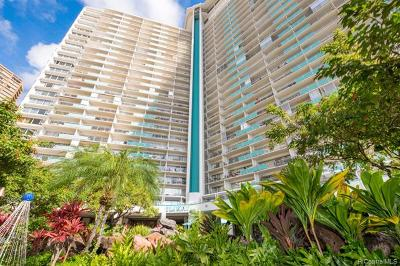 Honolulu Condo/Townhouse For Sale: 1777 Ala Moana Boulevard #2441