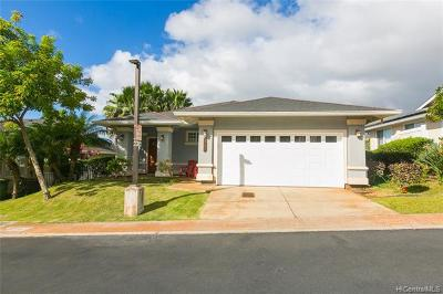 Kapolei Single Family Home For Sale: 92-1089 Palahia Street #E