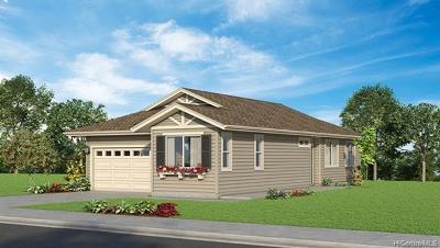 Ewa Beach Single Family Home For Sale: 91-1180 Iliahialoe Loop #Lot 124