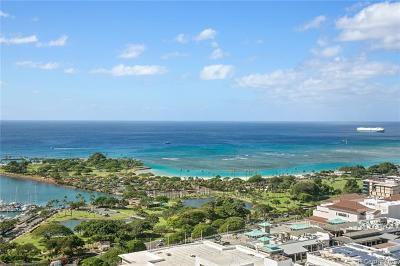 Honolulu County Condo/Townhouse For Sale: 1631 Kapiolani Boulevard #3511
