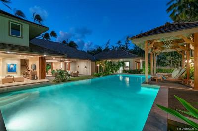 Honolulu HI Single Family Home For Sale: $5,800,000
