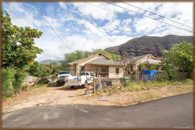 Waianae Single Family Home For Sale: 87-1570 Kapiki Road