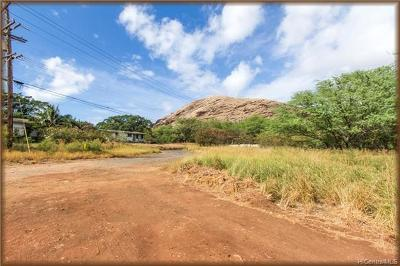 Honolulu County Residential Lots & Land For Sale: 87-1570 Kapiki Road
