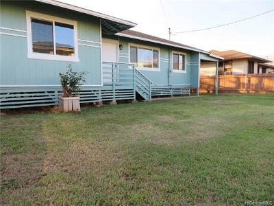 Ewa Beach Single Family Home For Sale: 91-819b Peeone Place