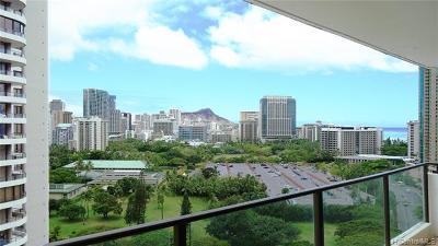 Central Oahu, Diamond Head, Ewa Plain, Hawaii Kai, Honolulu County, Kailua, Kaneohe, Leeward Coast, Makakilo, Metro Oahu, N. Kona, North Shore, Pearl City, Waipahu Rental For Rent: 1860 Ala Moana Boulevard #1707