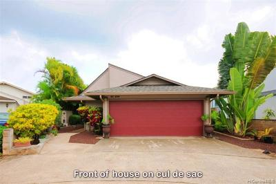 Mililani Single Family Home For Sale: 94-649 Kuaie Street