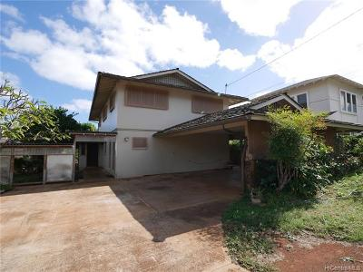 Honolulu HI Single Family Home For Sale: $1,285,000