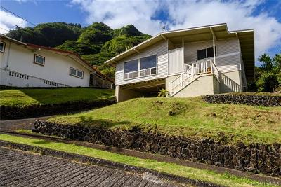 Single Family Home For Sale: 3450 Keahi Street