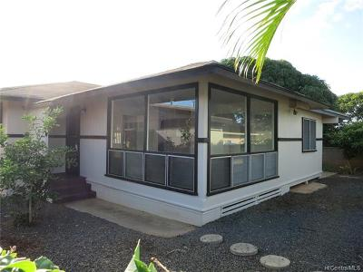 Honolulu HI Single Family Home For Sale: $980,000