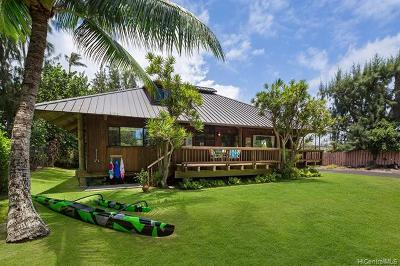 Kailua HI Single Family Home For Sale: $1,850,000