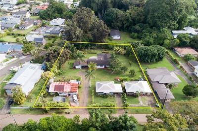 Wahiawa Single Family Home For Sale: 130 Dole Road