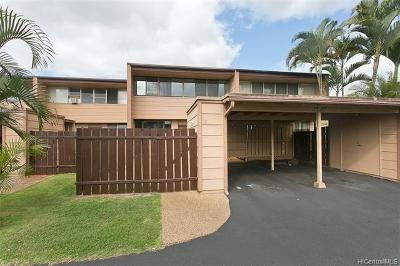 Mililani Condo/Townhouse For Sale: 94-368 Kapuahi Street #55