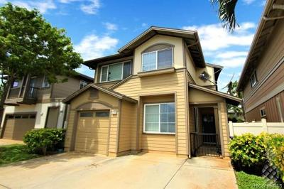 Single Family Home For Sale: 91-1041 Kanela Street #T-53