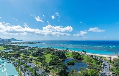 Honolulu County, Hawaii County Condo/Townhouse For Sale: 1118 Ala Moana Boulevard #1700