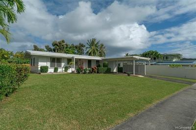 Kailua Single Family Home For Sale: 1060 Alahaki Street