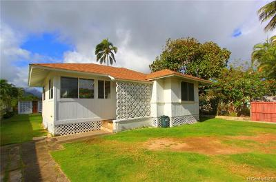 Kailua Single Family Home For Sale: 361d Hualani Street