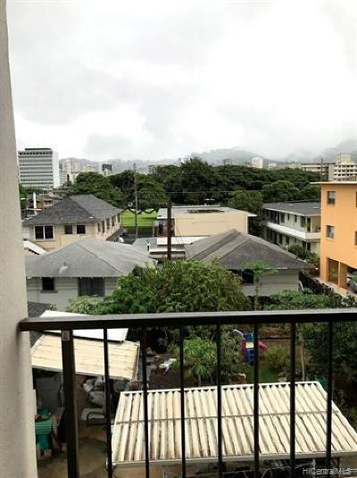 Condo/Townhouse For Sale: 725 Piikoi Street #306