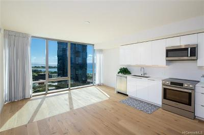 Hawaii County, Honolulu County Condo/Townhouse For Sale: 1001 Queen Street #2110