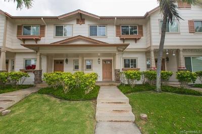 Ewa Beach Condo/Townhouse For Sale: 91-1121 Kaileolea Drive #3B4