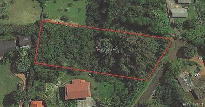 Haleiwa Residential Lots & Land For Sale: 59-414 Waka Road