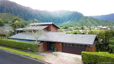 Kaneohe Single Family Home For Sale: 47-764 Hui Ulili Street