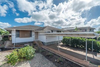Waipahu Single Family Home For Sale: 94-113 Awalau Street