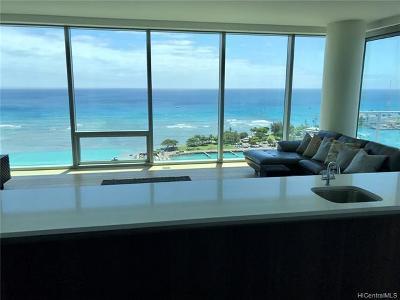 Honolulu County, Hawaii County Condo/Townhouse For Sale: 1118 Ala Moana Boulevard #2201