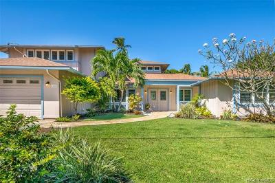 Kailua Single Family Home In Escrow Showing: 158 Kuupua Street