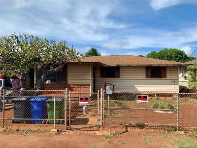 Honolulu County Single Family Home In Escrow Showing: 91-446 Papipi Drive