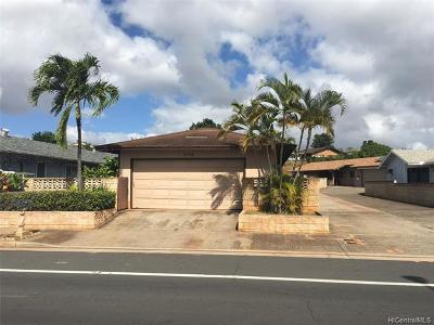 Waipahu Single Family Home For Sale: 94-766 Kaaholo Street