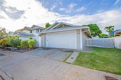 Ewa Beach Single Family Home For Sale: 91-1124 Puaina Street