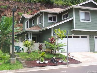 Mililani Condo/Townhouse For Sale: 95-1363 Wikao Street #41