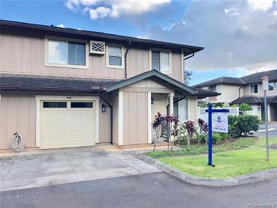 Mililani Condo/Townhouse For Sale: 95-973 Ukuwai Street #3307