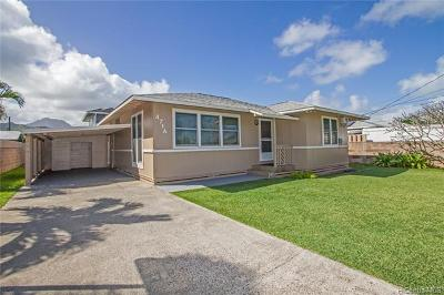 Kailua Single Family Home In Escrow Showing: 471a Hinano Way