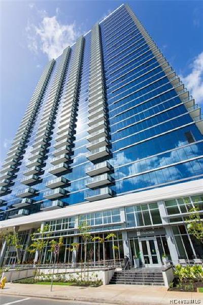 Honolulu County Condo/Townhouse For Sale: 600 Ala Moana Boulevard #2706